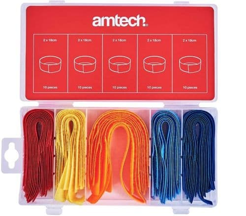 Amtech S6207 Cable Tidy Assortment